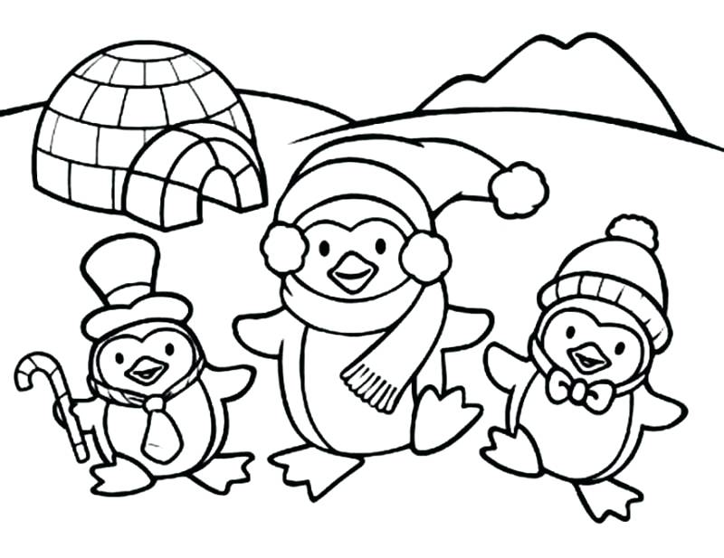 800x617 Printable Christmas Coloring Pages