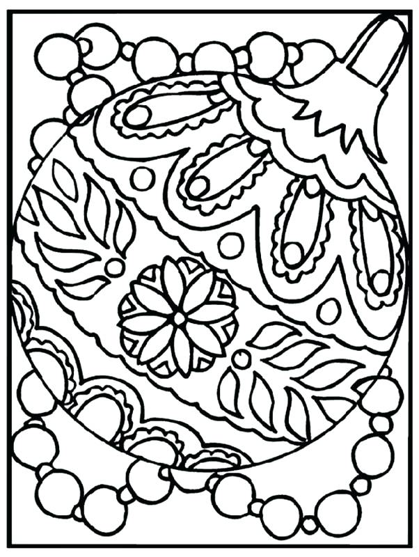 602x800 Christmas Coloring Sheets To Print