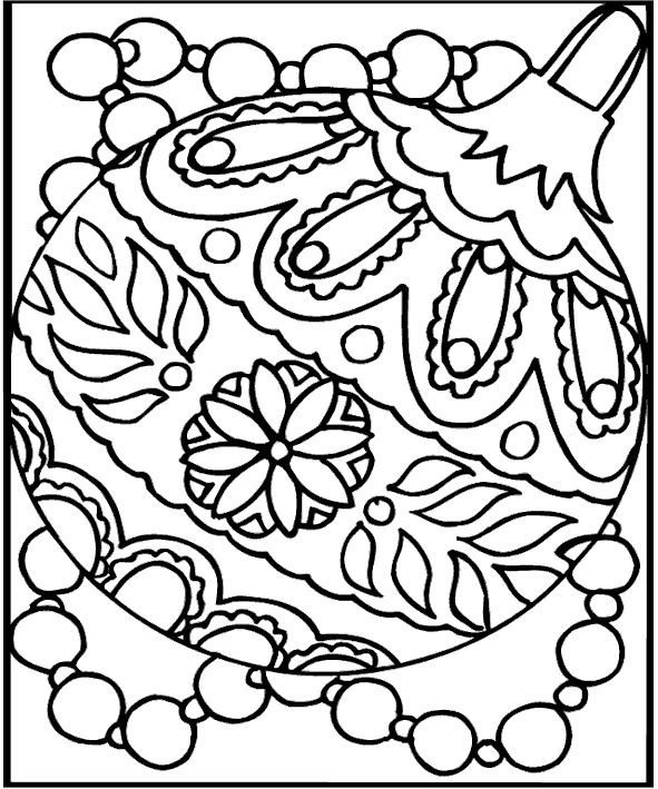 591x709 Christmas Coloring Pages Older Kids Best Printable Coloring