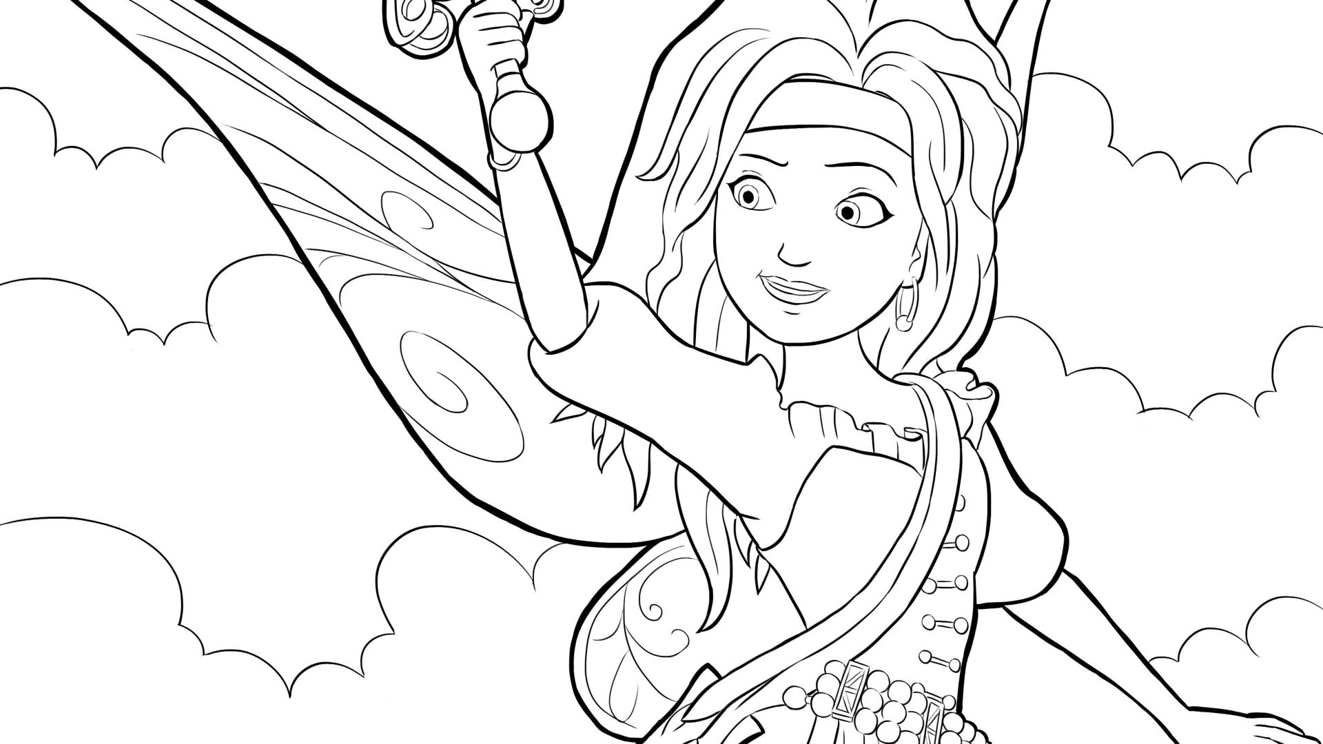 Free Printable Coloring Pages For Adults Fairies at GetDrawings ...