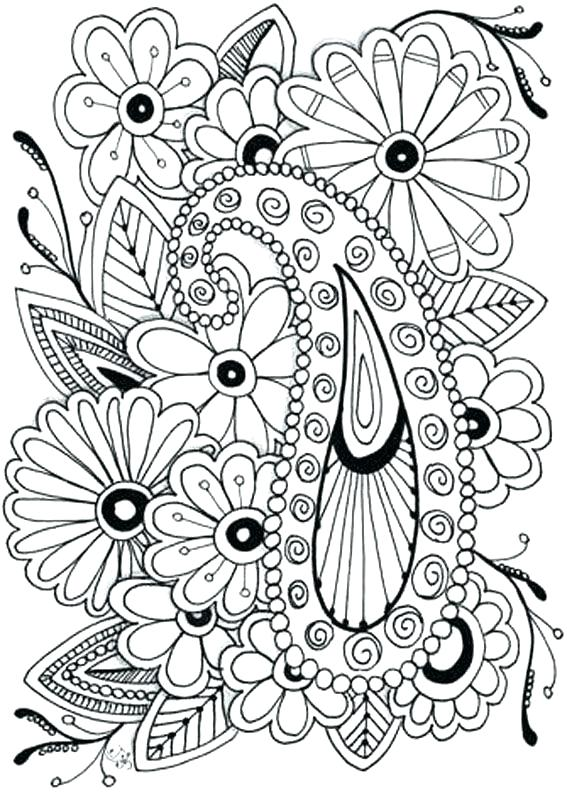 567x794 Coloring Pages Flowers Printable Coloring Pages Flowers Adult