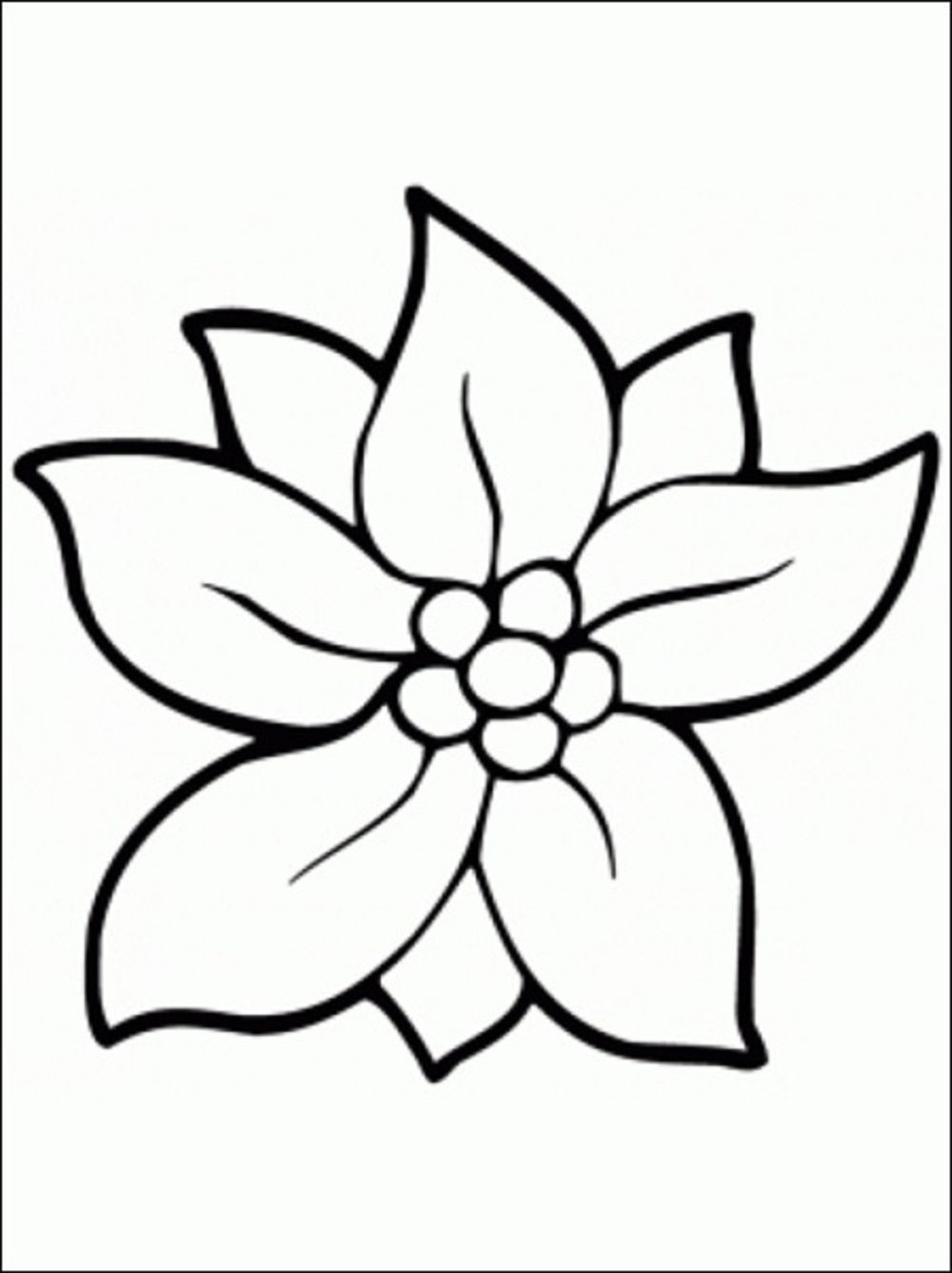 1000x1338 Flower Printable Coloring Pages