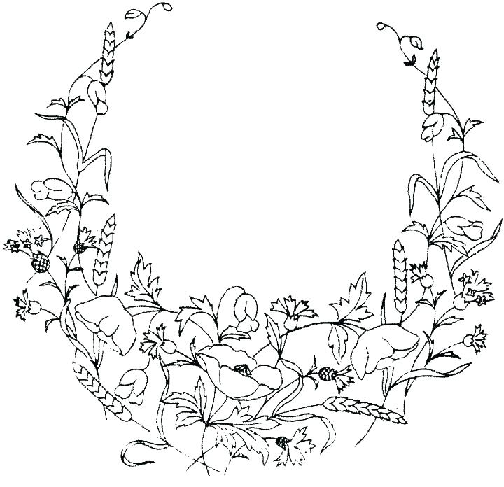 720x696 Flowers Printable Coloring Pages