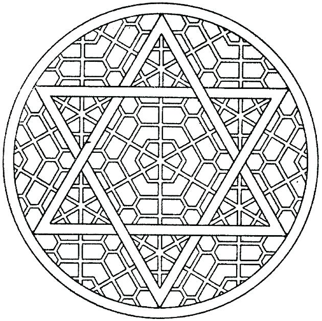 630x628 Geometric Coloring Pages Free Pattern Coloring Pages Geometric