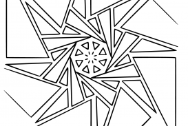 273x183 Geometric Coloring Pages Shapesable Free Design For Adults