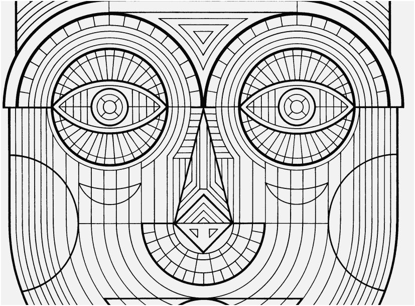 827x609 A Good Gallery Cool Design Coloring Pages To Print Most Helpful