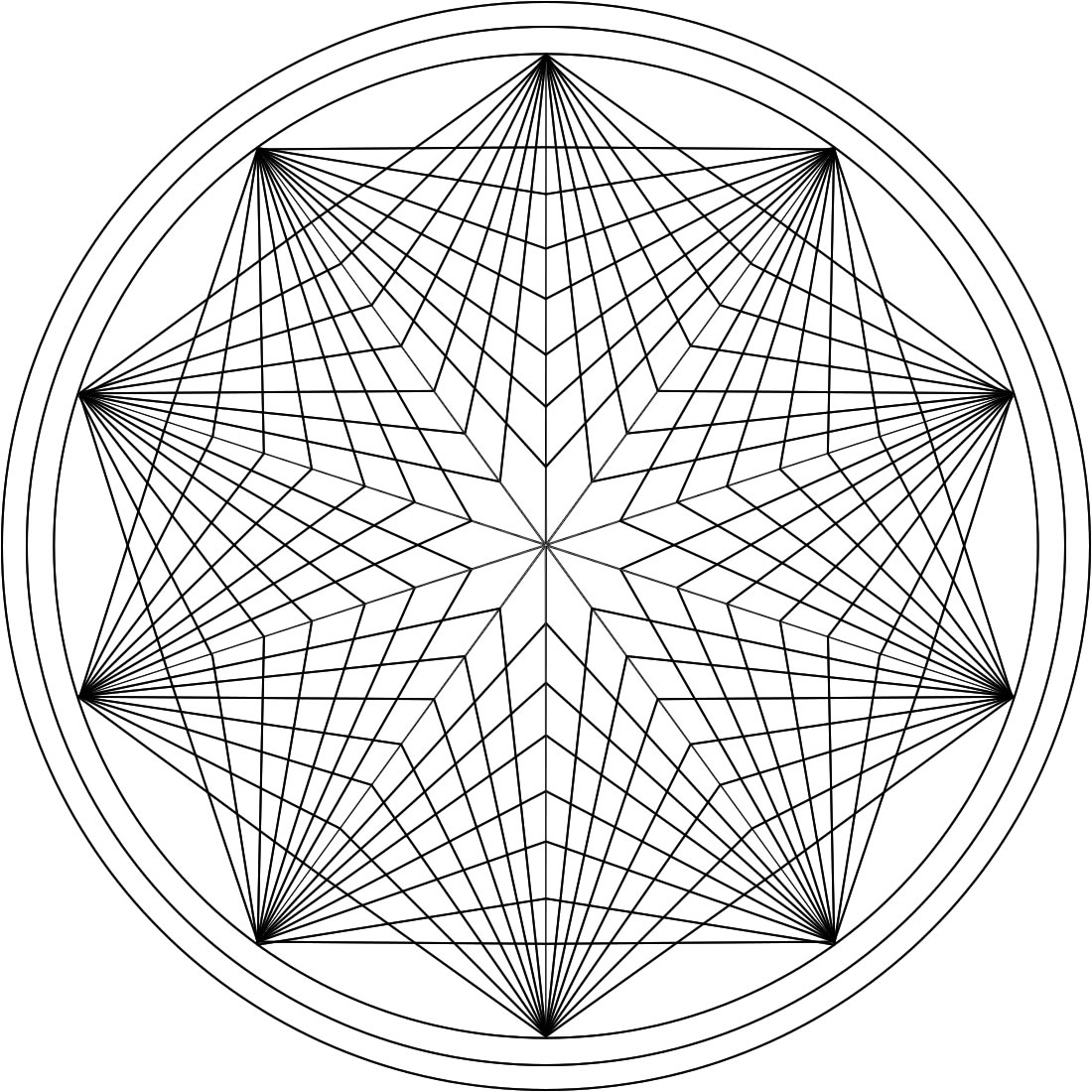 1100x1100 Great Printable Mandala Coloring Pages Adults