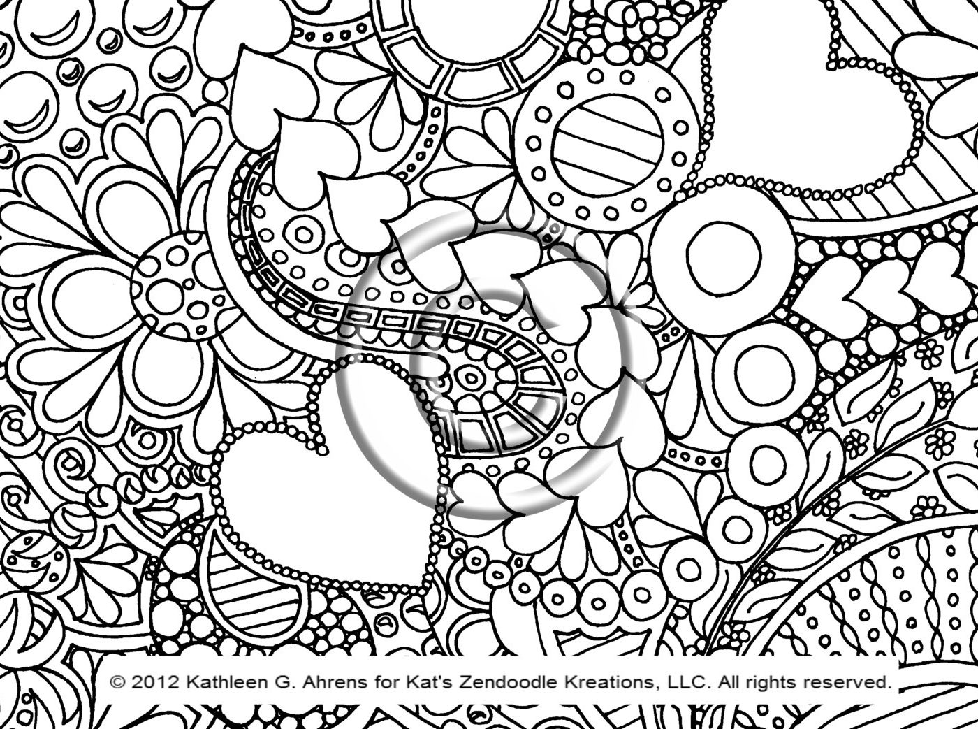 1400x1043 Coloring Pages Designs Geometric Ebcs Page Printable For Adults