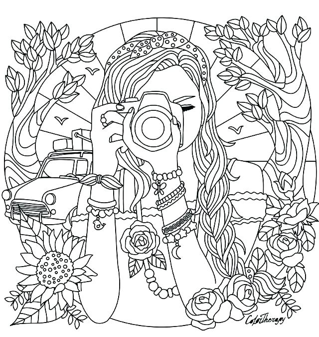 Free Printable Coloring Pages For Girls At Getdrawings Free Download