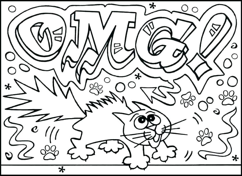 840x611 Cool Coloring Pages For Older Kids Cool Coloring Pages For Older