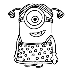 230x230 Exquisite Design Minions Coloring Pages Top Despicable Me