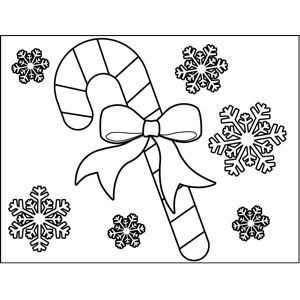 Free Printable Coloring Pages Of Candy Canes At Getdrawings Free