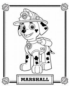 236x289 Paw Patrol Coloring Pages Free Printables New To Print