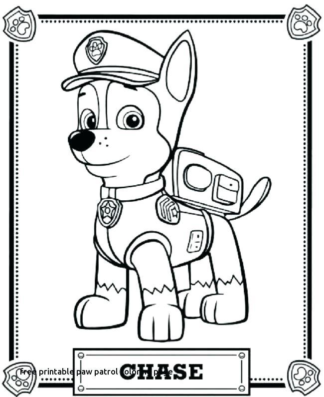 650x795 Paw Patrol Printable Coloring Pages Printable Paw Patrol Coloring