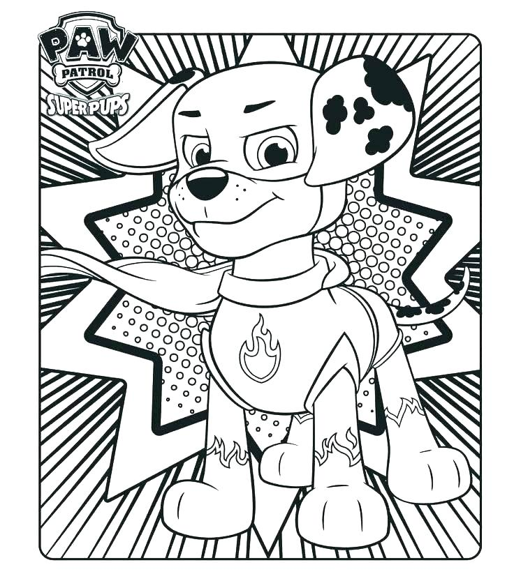 736x833 Printable Coloring Pages For Kids Paw Patrol Printable Coloring
