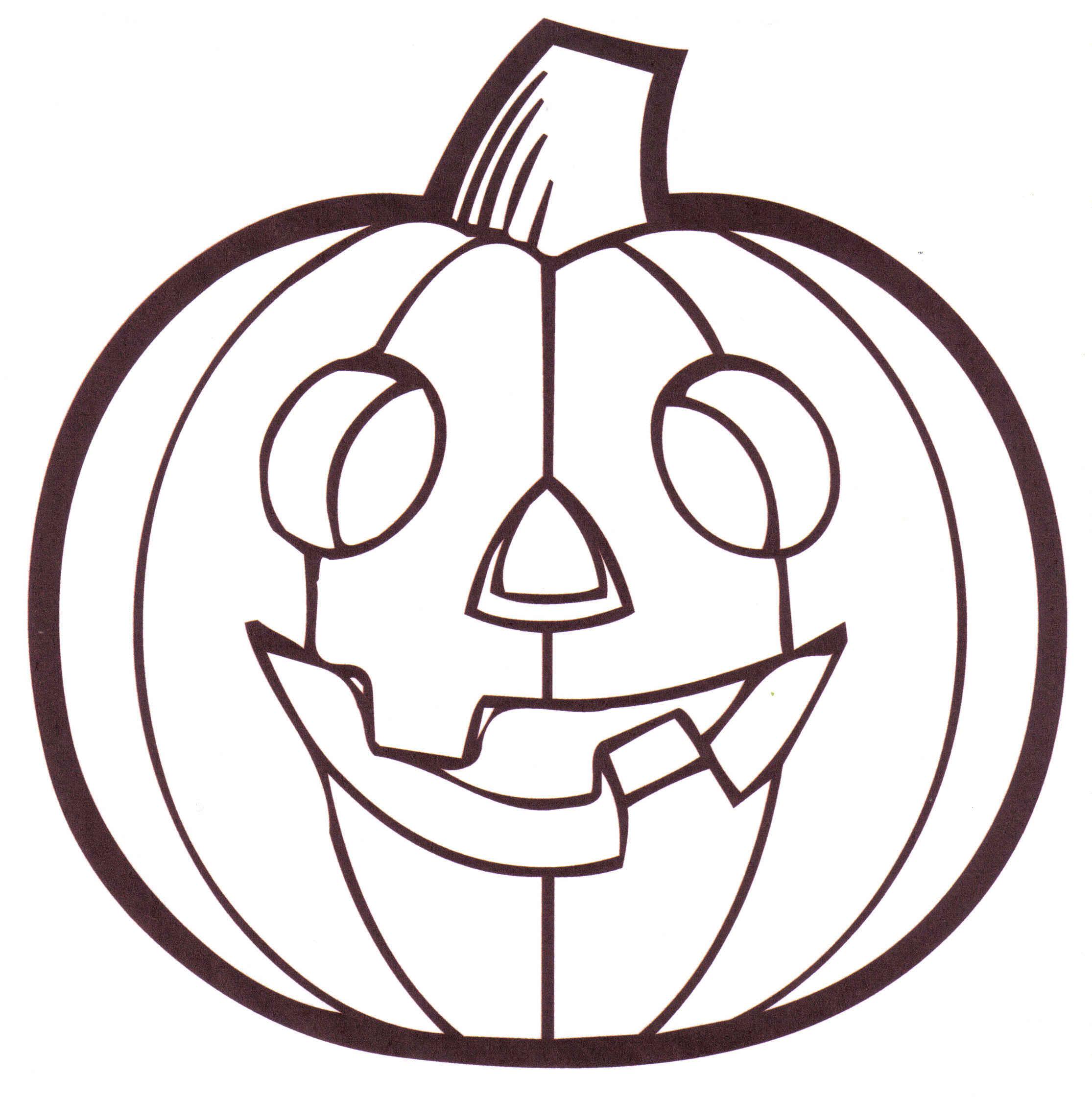 Free Printable Coloring Pages Pumpkins