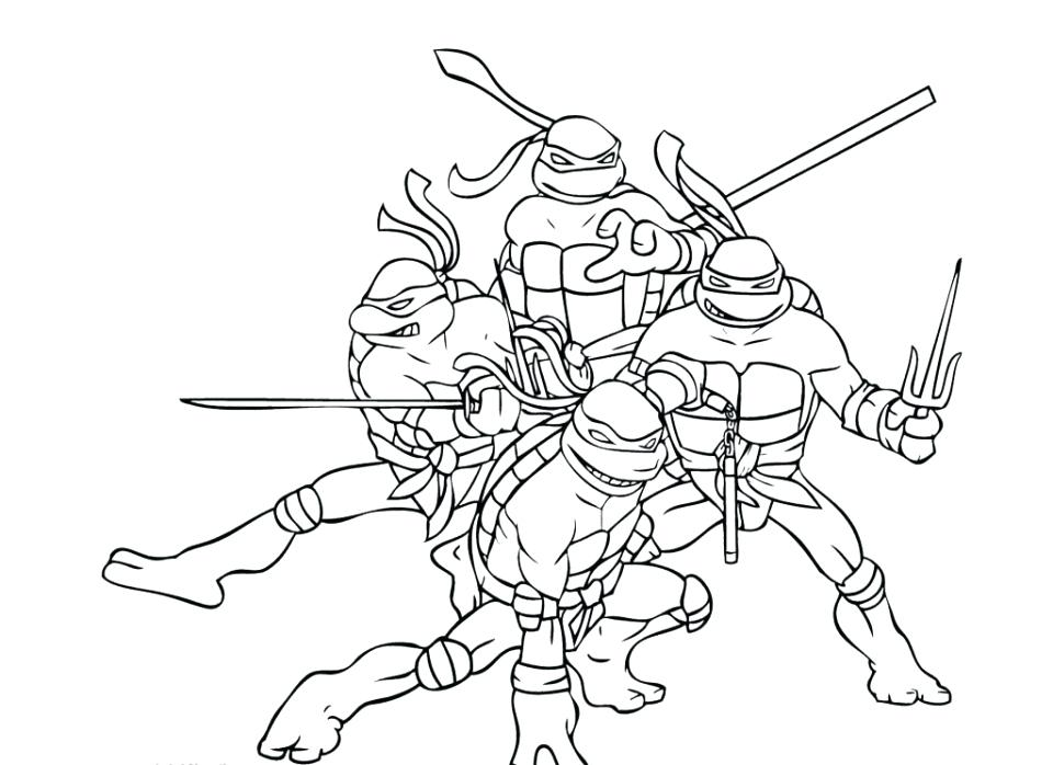 960x698 Nickelodeon Teenage Mutant Ninja Turtles Printable Coloring Pages