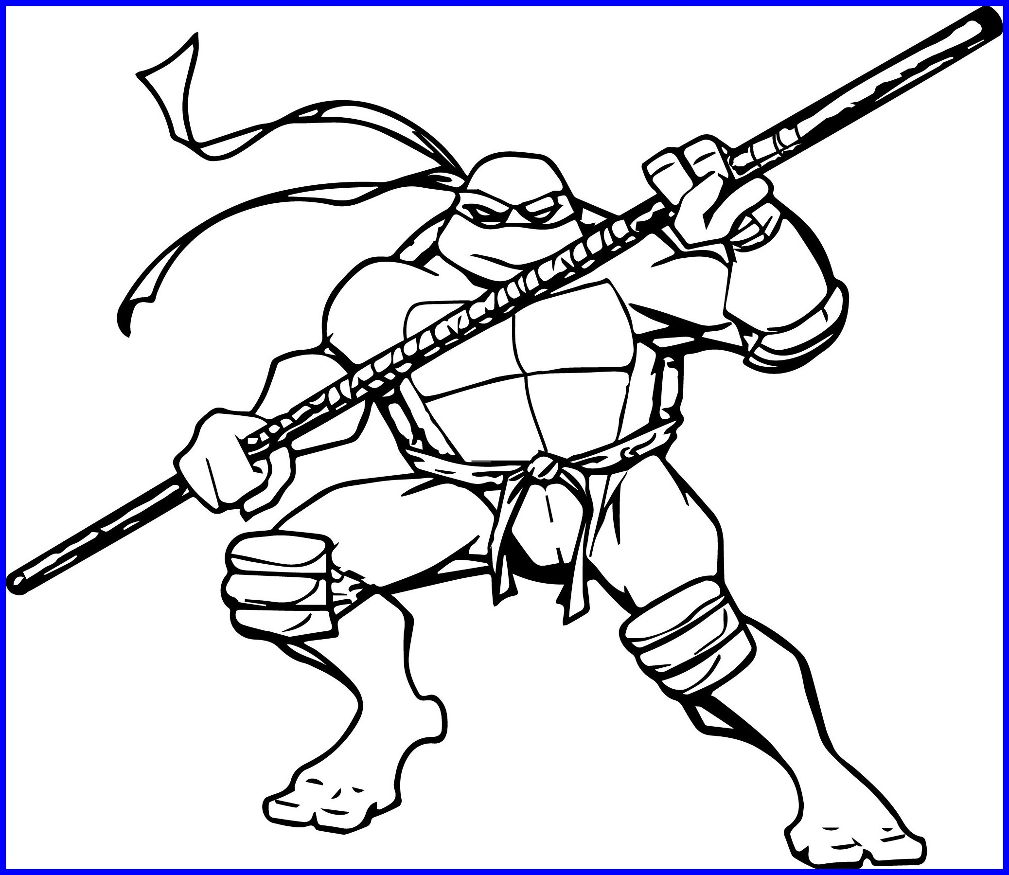2075x1799 The Best Top Teenage Mutant Ninja Turtles Memorable Coloring Pages