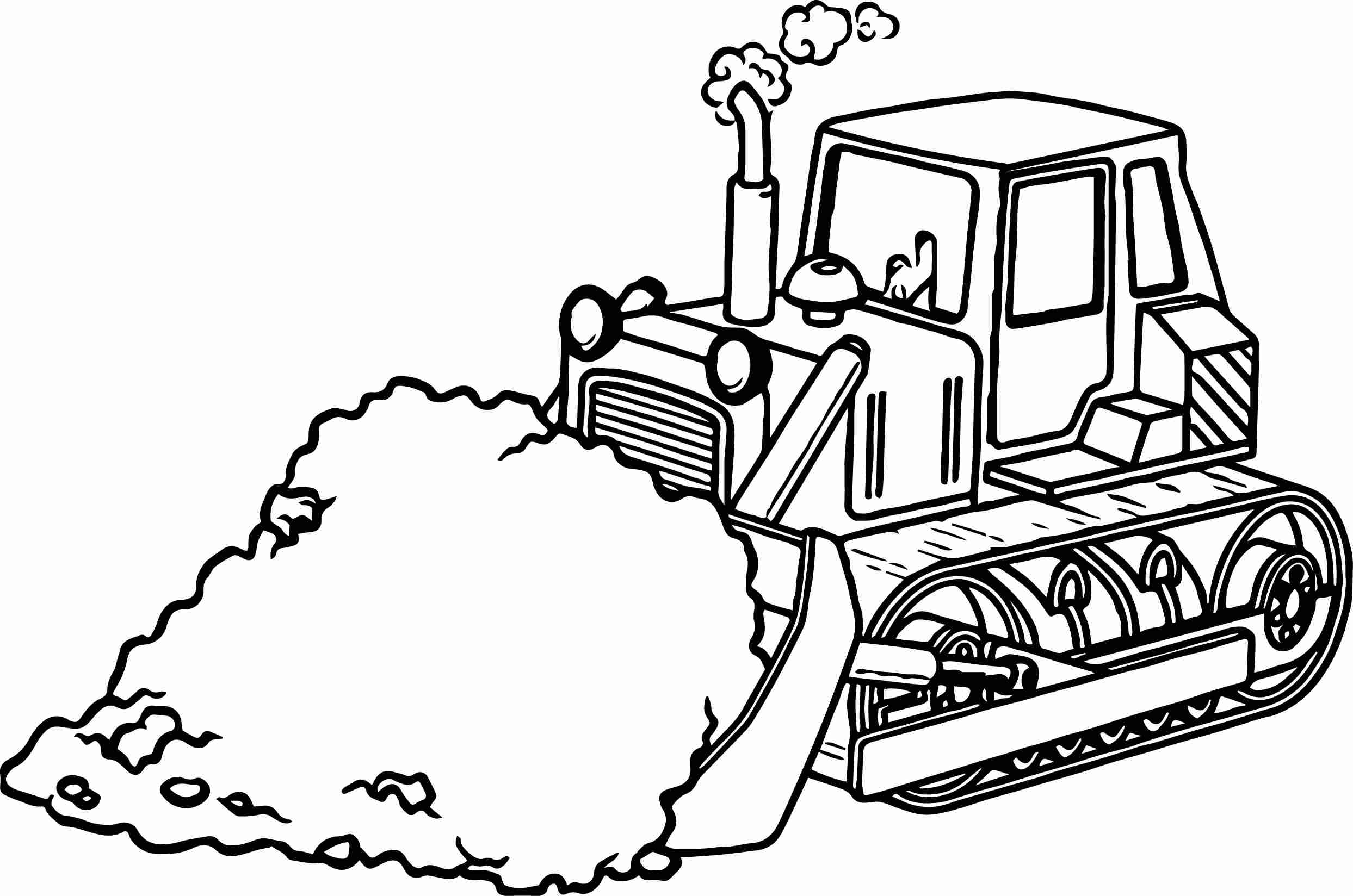 2487x1648 Heavy Construction Equipment Wheel Loader Coloring Page Letmecolor