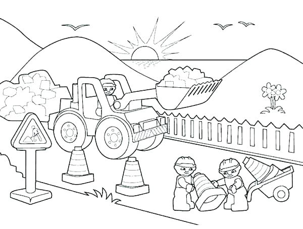 Free Printable Construction Coloring Pages At Getdrawings Free Download