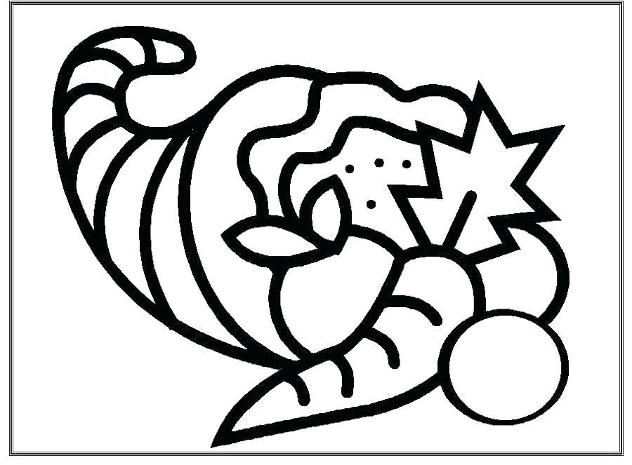 Free Printable Cornucopia Coloring Pages at GetDrawings ...