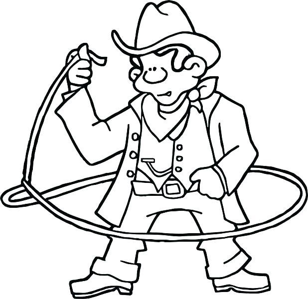 618x600 Cowboy Hat Coloring Page Cowboy Boots Coloring Pages Cowboy