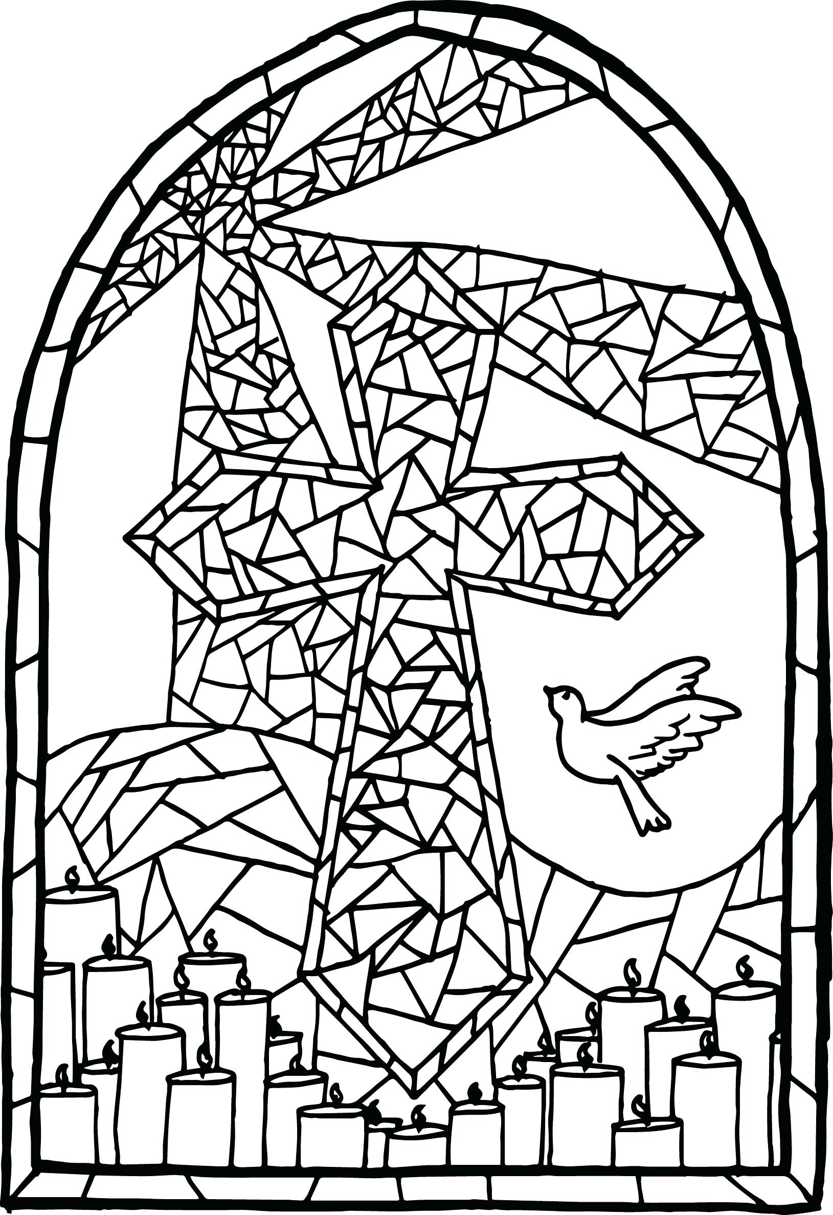 Free Printable Cross Coloring Pages at GetDrawings.com | Free for ...