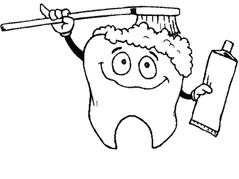 479x359 Free Printable Dental Coloring Pages Dental Coloring Pages