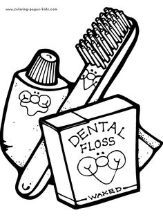 236x324 Free Dental Coloring Pages For Kids Tooth Printable Free Coloring