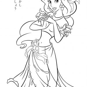 300x300 Disney Princess Coloring Pages Tinkerbell Best Of Free Printable