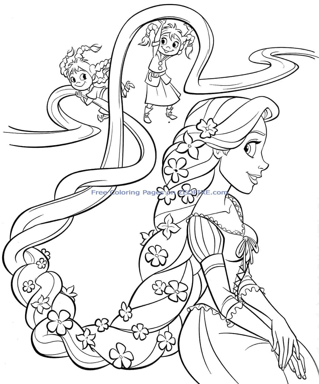 Free Printable Disney Coloring Pages For Girls at ...