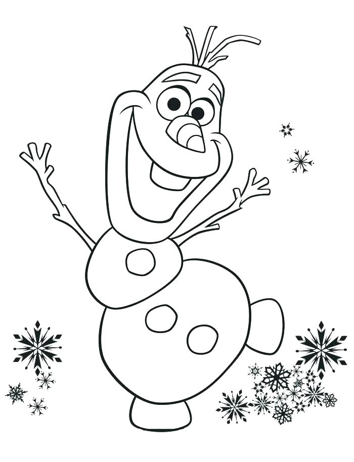 Frozen Coloring Pictures Printable