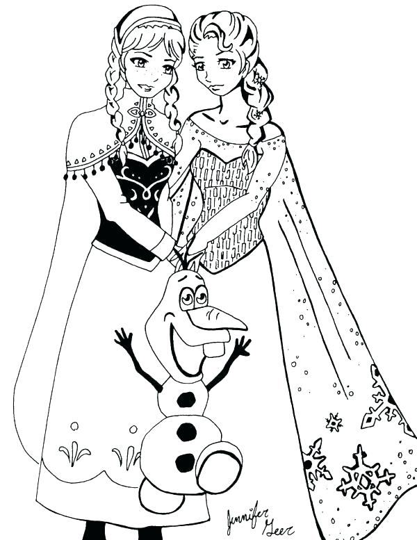 600x777 Frozen Free Printable Coloring Pages Coloring Pages Of Frozen