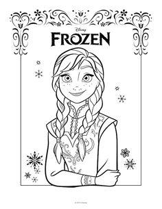 236x305 Frozen De Elsa Para Colorear, Para Imprimir Gratis
