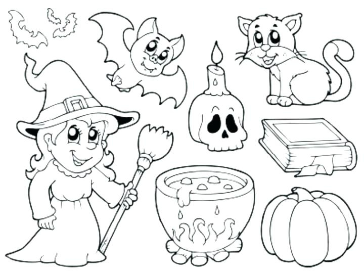 720x540 Halloween Coloring Pages Pdf Fun Time