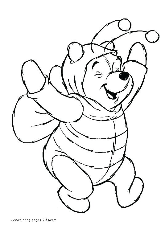 535x743 Disney Halloween Coloring Pages Icontent