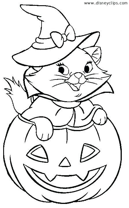 447x717 Marvelous Free Disney Halloween Coloring Pages Usedauto Club