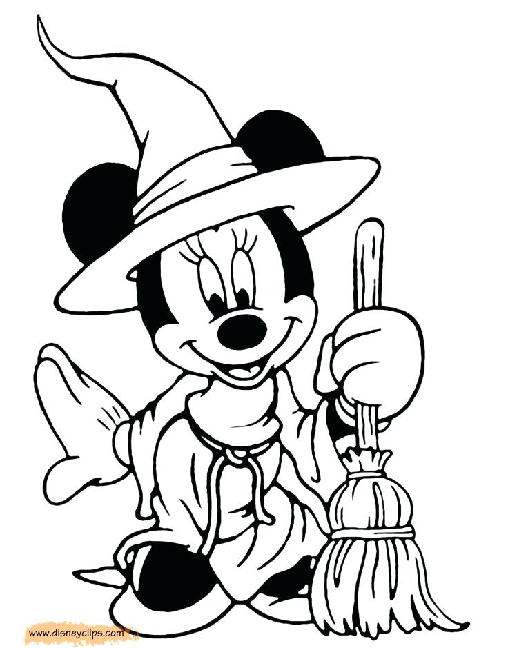 736x939 Beautiful Disney Halloween Coloring Pages Or Printable Pictures