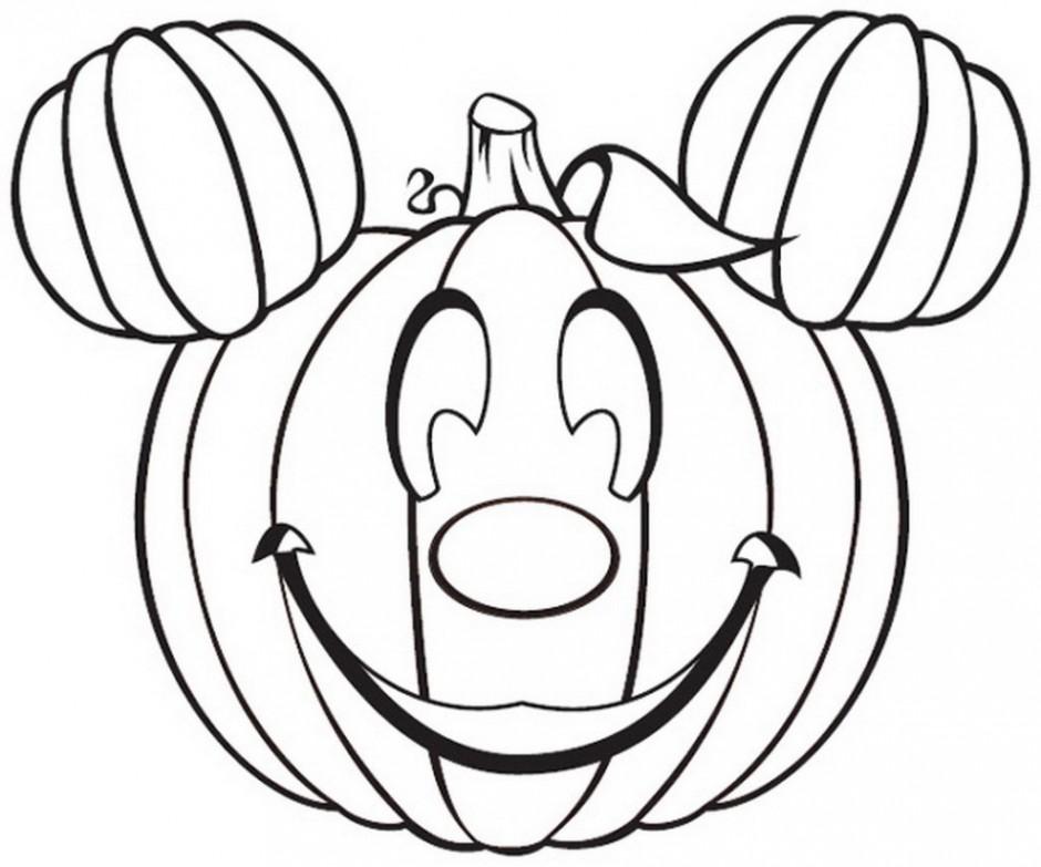 940x783 Printable Disney Halloween Coloring Pages Free Printable Disney