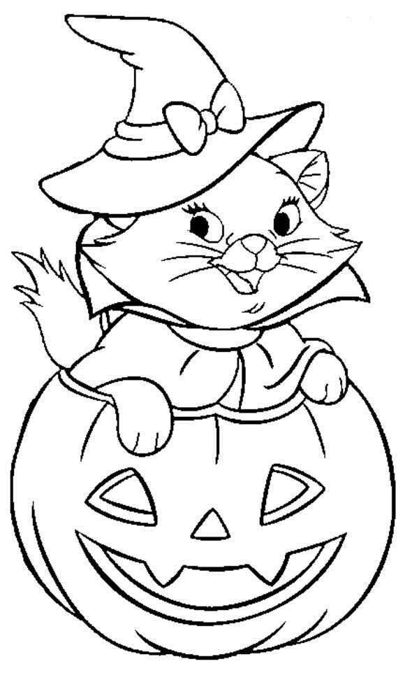 600x962 Disney Halloween Coloring Sheet For Kids Picture