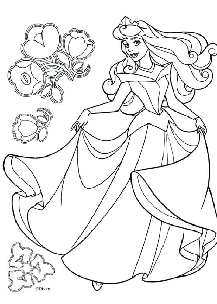 714x1000 Disney Princess Print Disney Princess Coloring Pages Princess