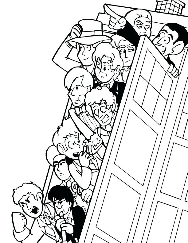 612x792 Doctor Who Coloring Pages Will Love Doctor Who Coloring Pages