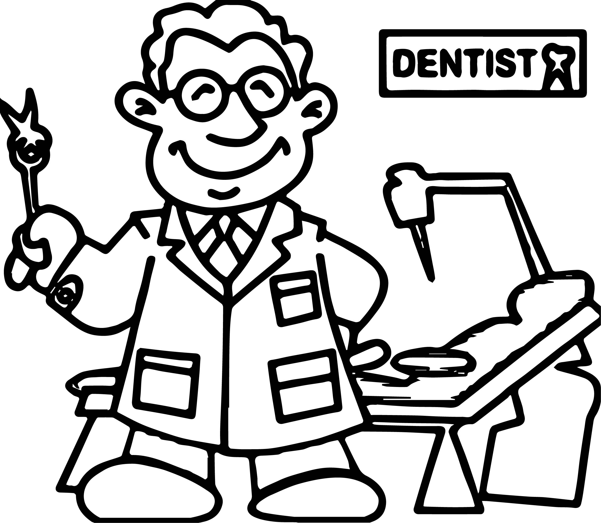 2485x2161 Printable Beautiful Tooth Coloring Page Gallery Professional