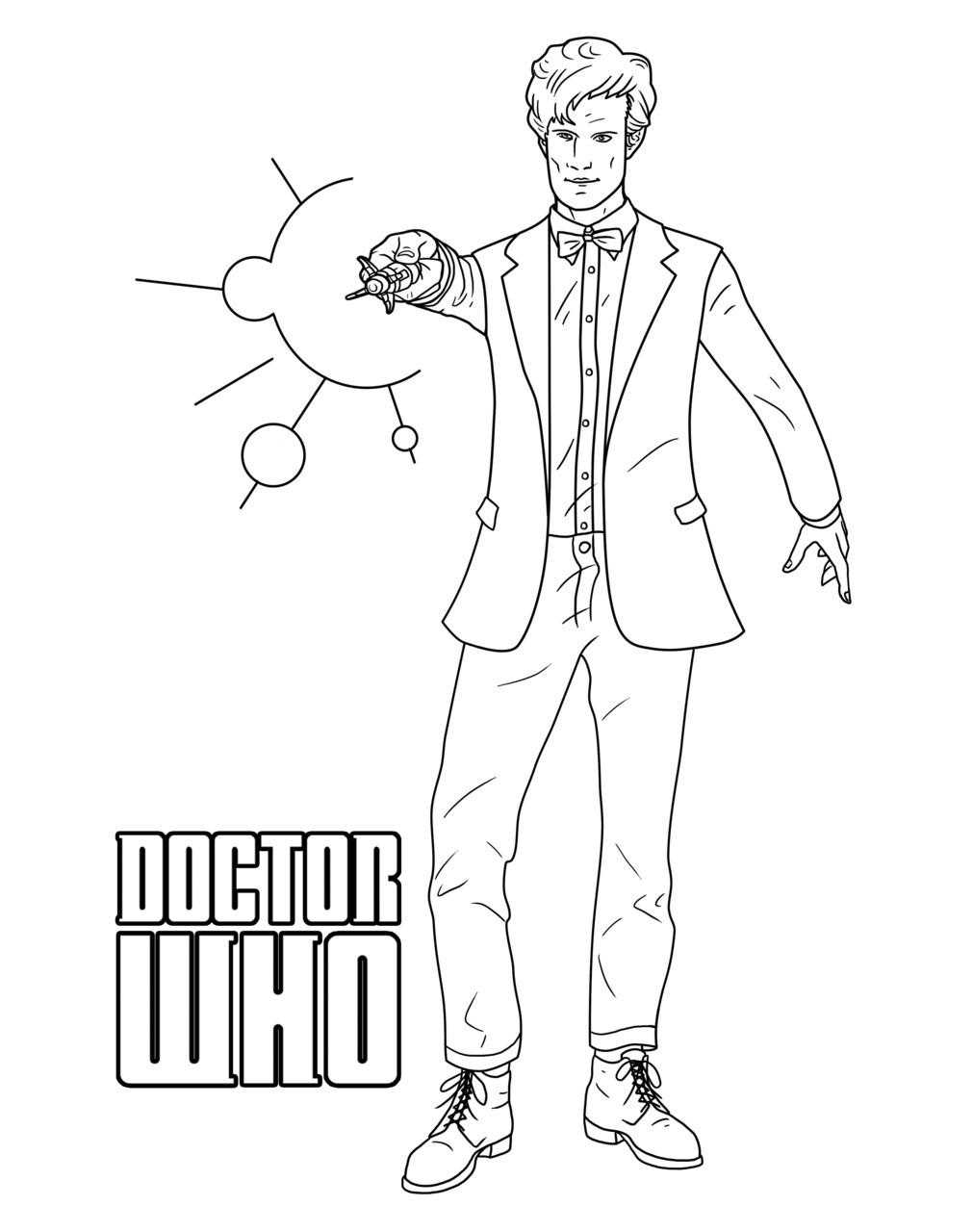 1011x1280 Doctor Coloring Pages F Tenth Doctor Coloring Page Doctor Who