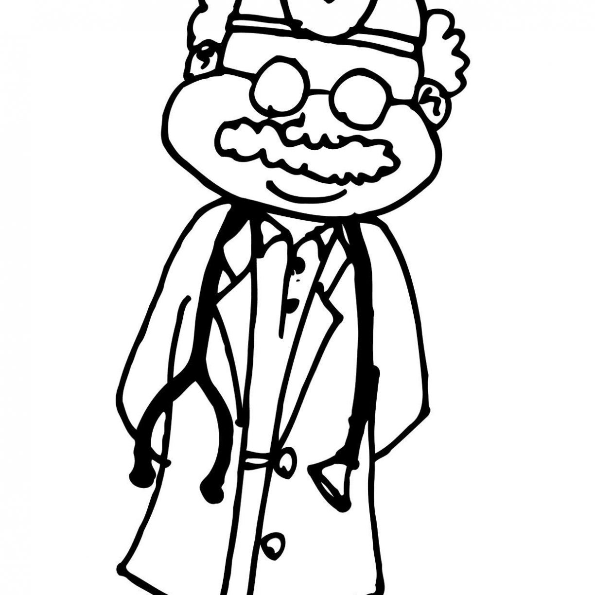 1224x1224 Doctor Kit Coloring Page Office Sheets Pages Pdf For Toddlers