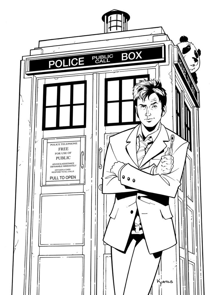 736x1001 Doctor Who Coloring Page Coloring Pages For All Ages