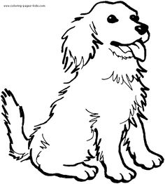 photograph about Dog Printable named No cost Printable Puppy Coloring Web pages at  Absolutely free