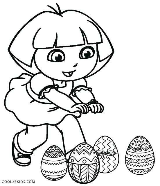 551x640 Dora Explorer Coloring Pages Explorer Coloring Pages Free