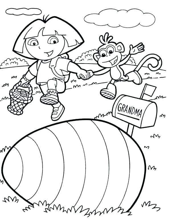 600x775 Dora Explorer Coloring Pages The Explorer Coloring Pages Stock