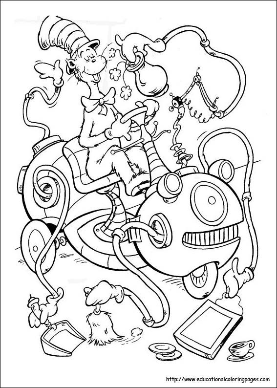 image relating to Free Printable Dr Seuss Coloring Pages named No cost Printable Dr Seuss Coloring Internet pages at